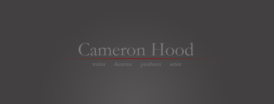 cameron hood writer director artist producer